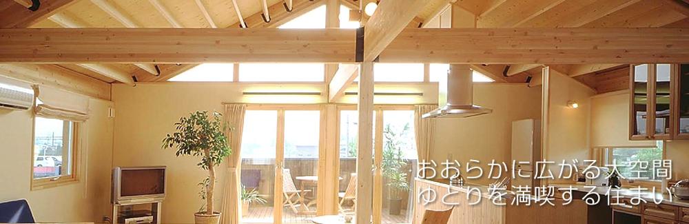 ゆとり空間が嬉しい北海道と信州のコラボレーション注文住宅の家
