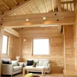 リビングルームの開放感をデザインする2階リビングの家